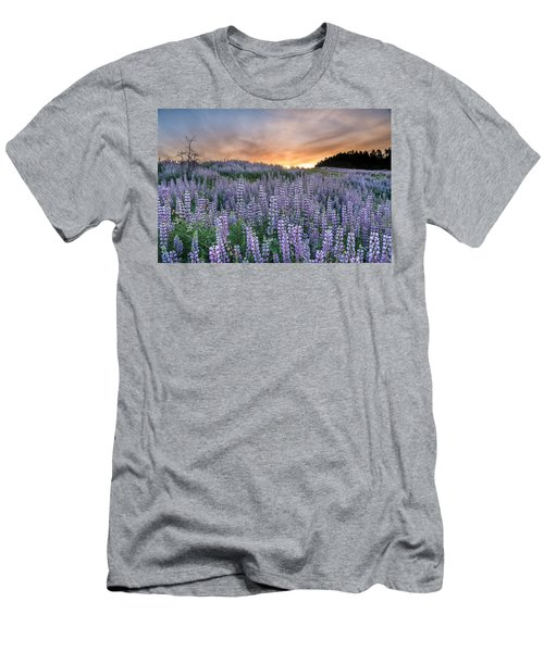 Dawn Of Lupine Men's T-Shirt (Athletic Fit)