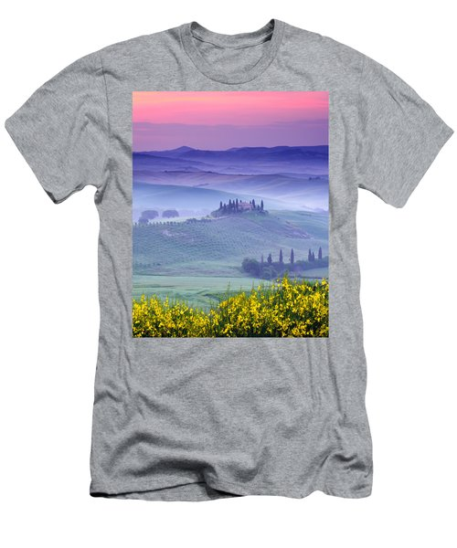 Dawn Over Belvedere Men's T-Shirt (Athletic Fit)