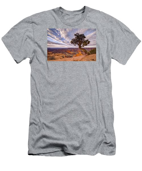 Dead Horse Point Sunrise Men's T-Shirt (Slim Fit) by Dustin  LeFevre