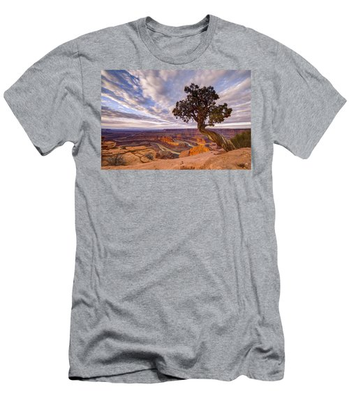 Dead Horse Point Sunrise Men's T-Shirt (Athletic Fit)