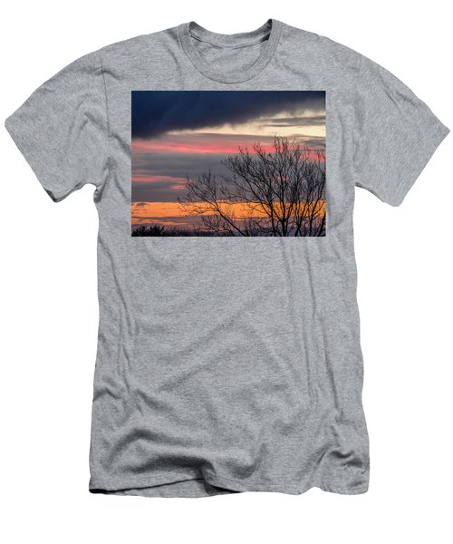 December County Clare Sunrise Men's T-Shirt (Athletic Fit)