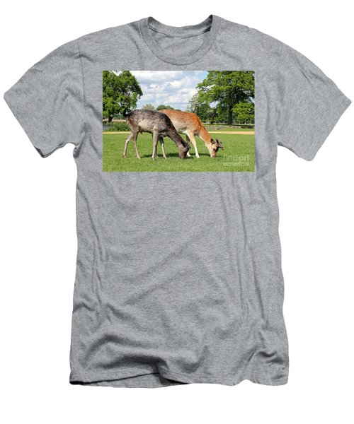 Two Deer Men's T-Shirt (Athletic Fit)