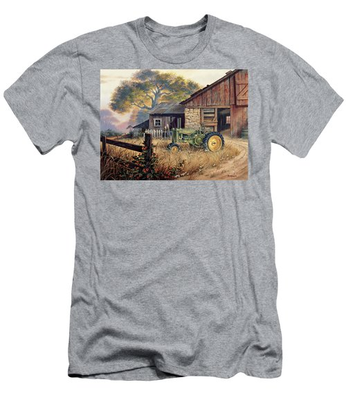 Deere Country Men's T-Shirt (Slim Fit) by Michael Humphries