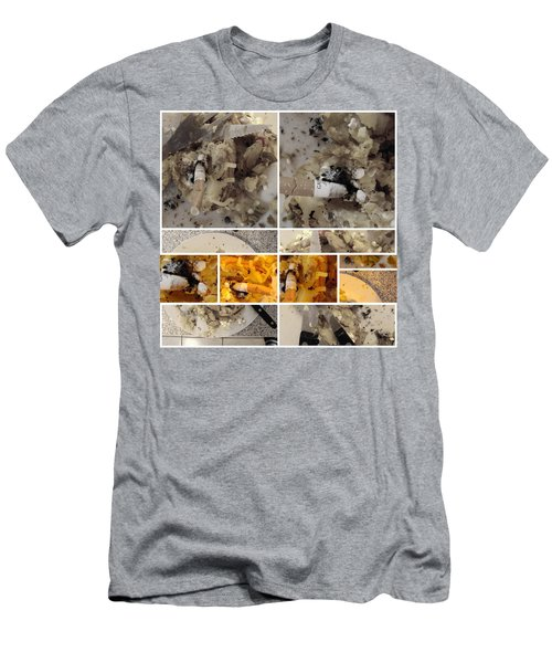 Men's T-Shirt (Slim Fit) featuring the photograph Defense De Fumer Part One by Sir Josef - Social Critic - ART