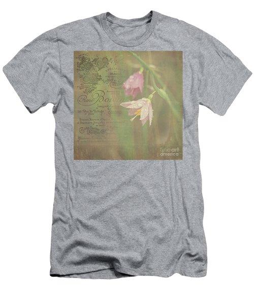 Delicate Blooms Men's T-Shirt (Athletic Fit)