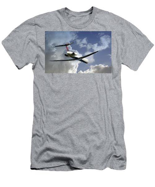 Delta Jet Men's T-Shirt (Athletic Fit)