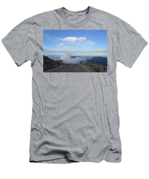 Descending Into The Clouds Men's T-Shirt (Athletic Fit)