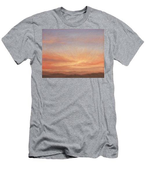 Desert Sky B Men's T-Shirt (Athletic Fit)