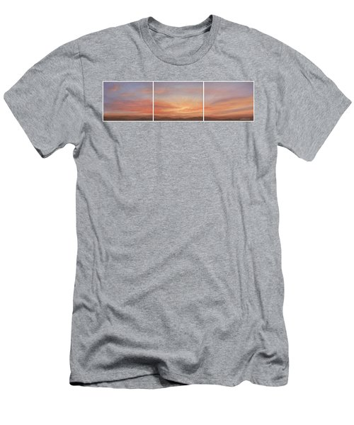 Desert Sky Triptych Men's T-Shirt (Athletic Fit)