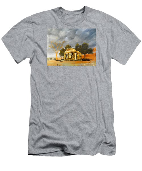 Deserted Castlemain Farmhouse Men's T-Shirt (Athletic Fit)