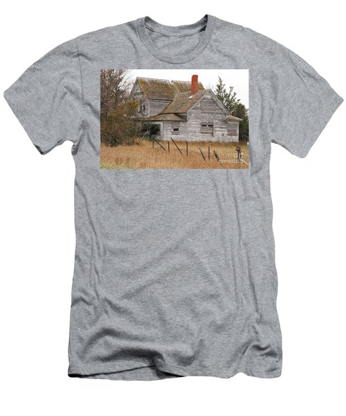 Deserted House Men's T-Shirt (Slim Fit) by Mary Carol Story