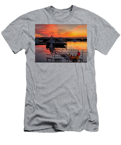 Men's T-Shirt (Athletic Fit) featuring the photograph Desired Haven  by Garvin Hunter