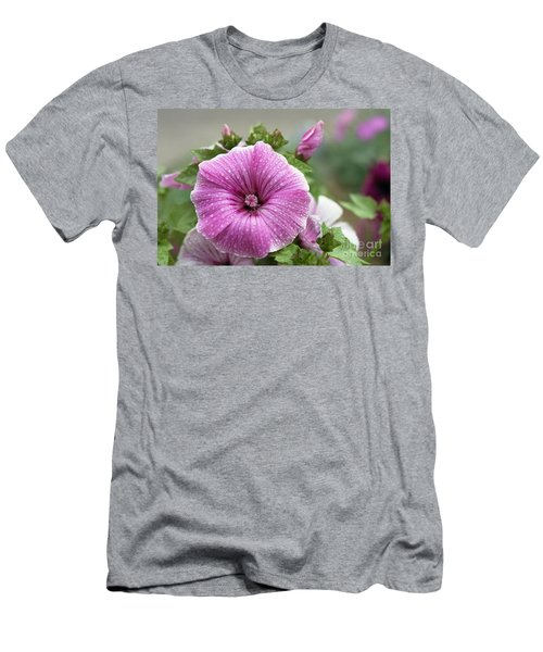Dew Drop Petals Men's T-Shirt (Athletic Fit)