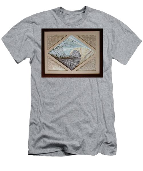 Men's T-Shirt (Slim Fit) featuring the mixed media Diamonds Are Forever by Ron Davidson