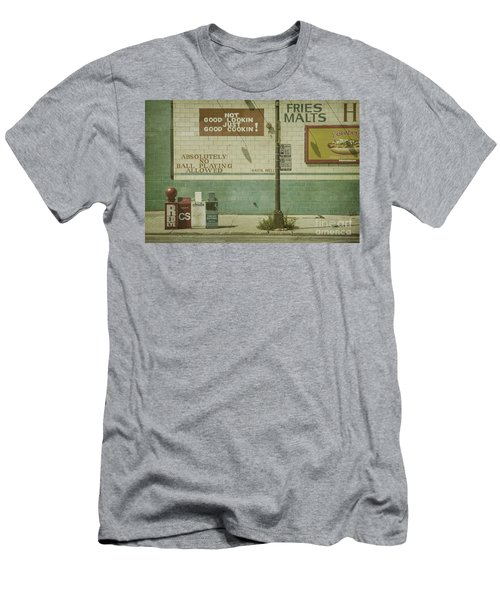 Diner Rules Men's T-Shirt (Athletic Fit)
