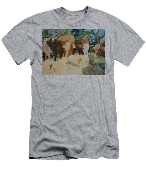 Dinner Time Men's T-Shirt (Athletic Fit)