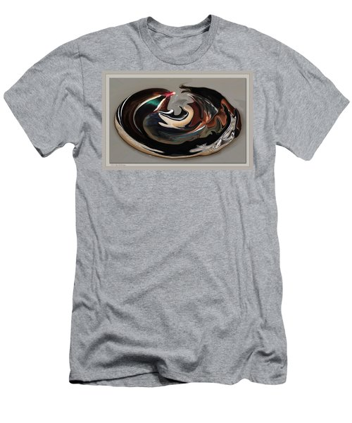 Disoriented Duck  Men's T-Shirt (Athletic Fit)