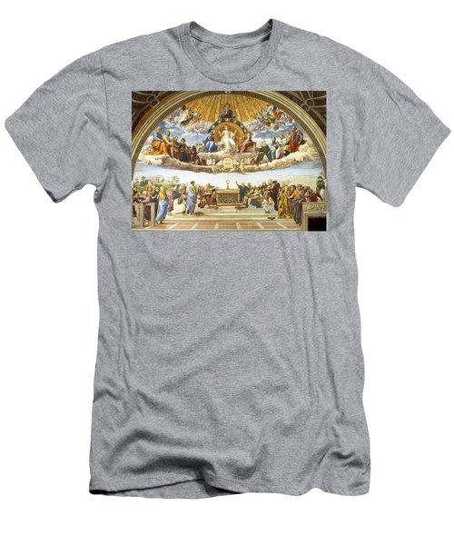 Disputation Of Holy Sacrament. Men's T-Shirt (Athletic Fit)