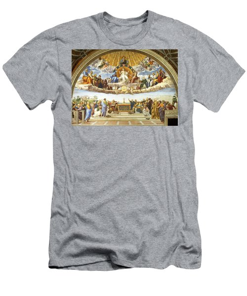 Disputation Of Holy Sacrament. Men's T-Shirt (Athletic Fit)