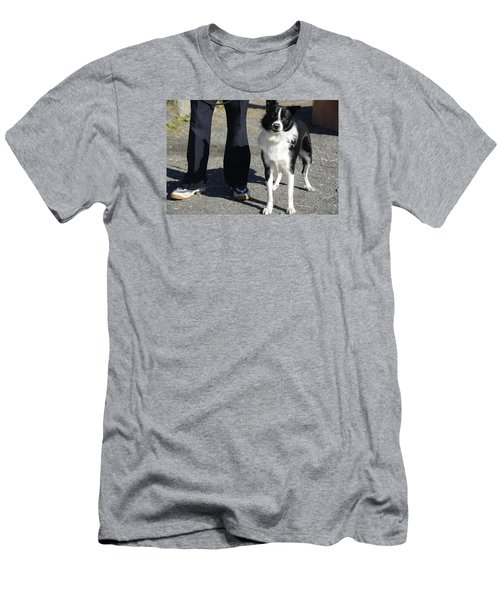 Dog And True Friendship 9 Men's T-Shirt (Slim Fit) by Teo SITCHET-KANDA