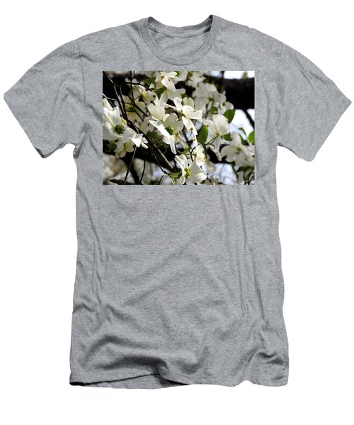 Dogwoods In The Spring Men's T-Shirt (Athletic Fit)