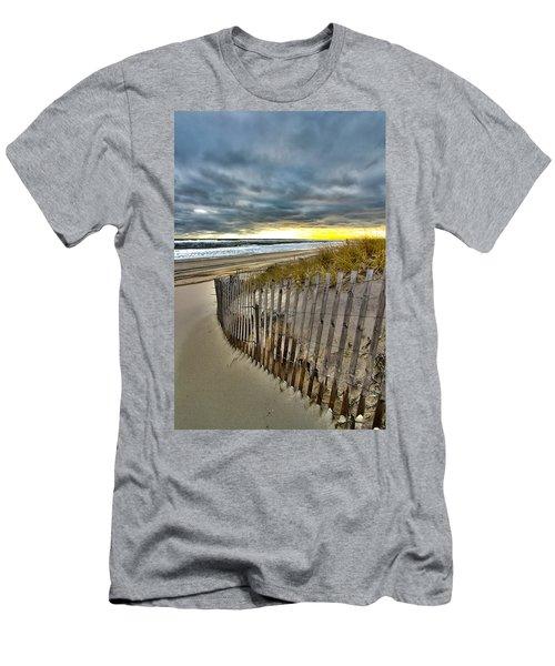 Dolphin Lane - 1 Men's T-Shirt (Athletic Fit)