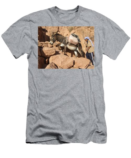 Donkey Of Mt. Sinai Men's T-Shirt (Athletic Fit)