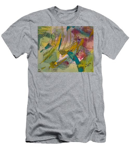 Doodles With Abstraction Men's T-Shirt (Athletic Fit)
