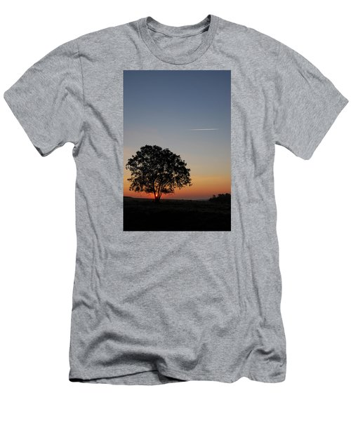 Men's T-Shirt (Slim Fit) featuring the photograph Dorset Dawn by Wendy Wilton