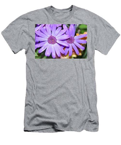 Double Purple Men's T-Shirt (Athletic Fit)