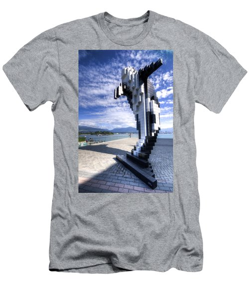 Douglas Coupland's Digital Orca Men's T-Shirt (Athletic Fit)