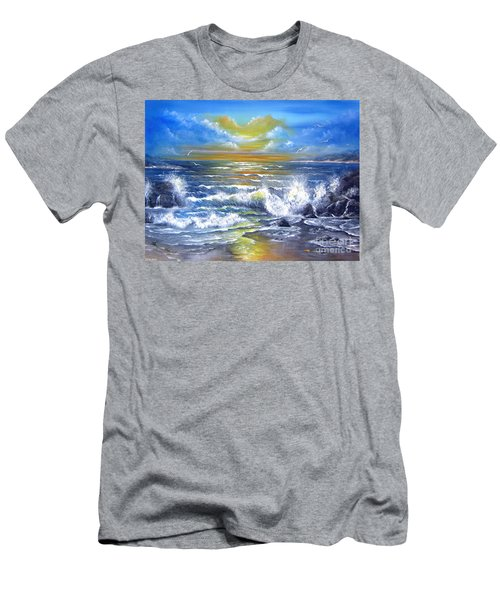 Down Came The Sun  Men's T-Shirt (Athletic Fit)
