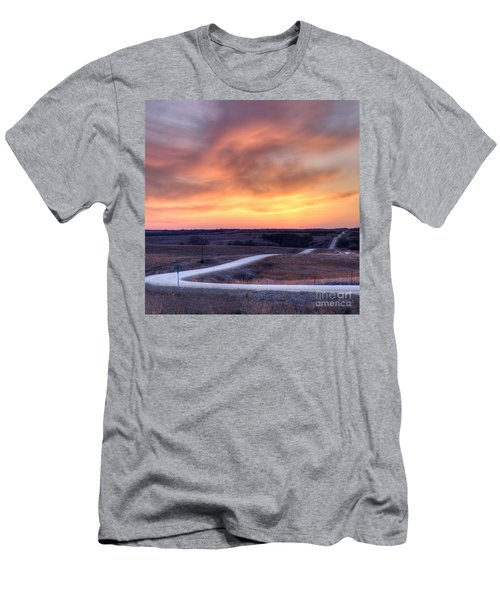 Down To The Rolling Hills Men's T-Shirt (Athletic Fit)