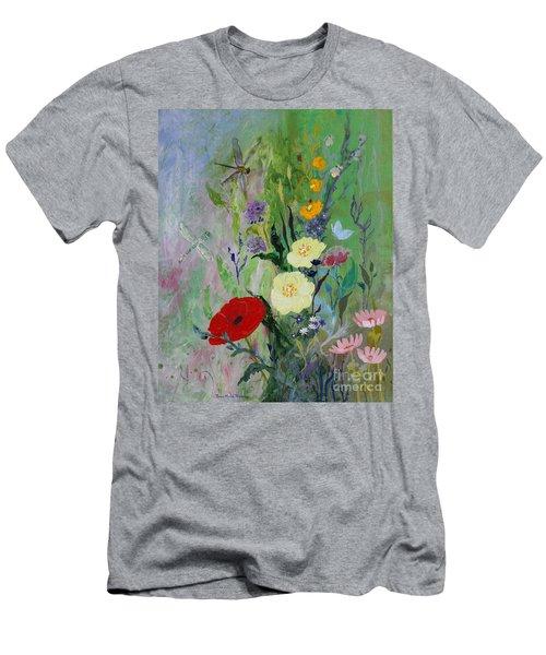 Dragonflies Dancing Men's T-Shirt (Slim Fit) by Robin Maria Pedrero