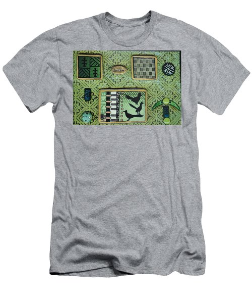 Dreams Collage Men's T-Shirt (Athletic Fit)