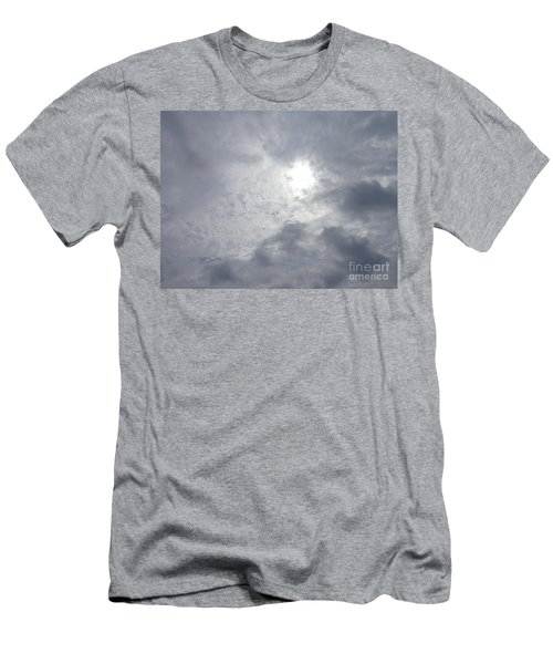 Duck In Beautiful Sky Men's T-Shirt (Athletic Fit)