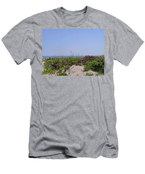 Dune Roses Men's T-Shirt (Slim Fit)