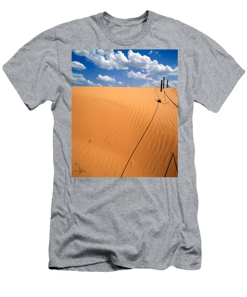 Dunes And Clouds Men's T-Shirt (Athletic Fit)