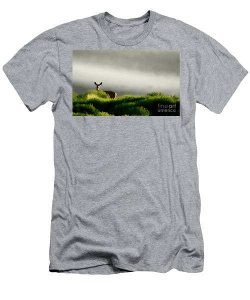 Dunes Deer P Men's T-Shirt (Athletic Fit)