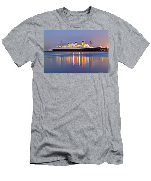 Dusk Light On The Queen Mary Men's T-Shirt (Athletic Fit)