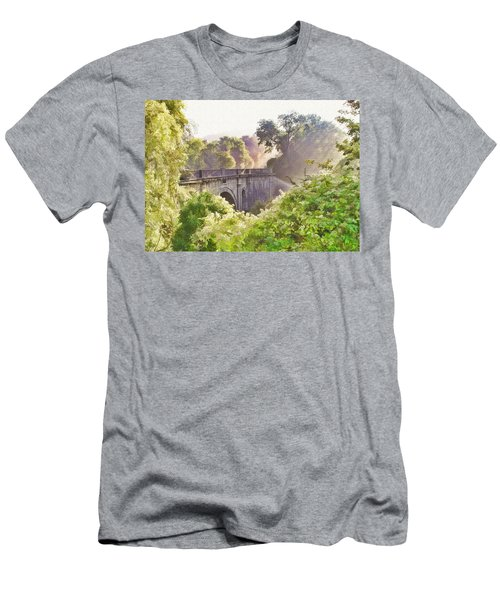 Early Morning Mist Men's T-Shirt (Athletic Fit)