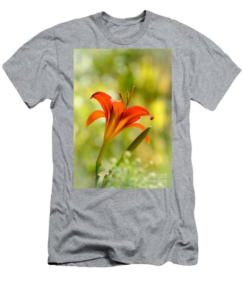 Early Morning Portrait Men's T-Shirt (Slim Fit) by Amy Porter