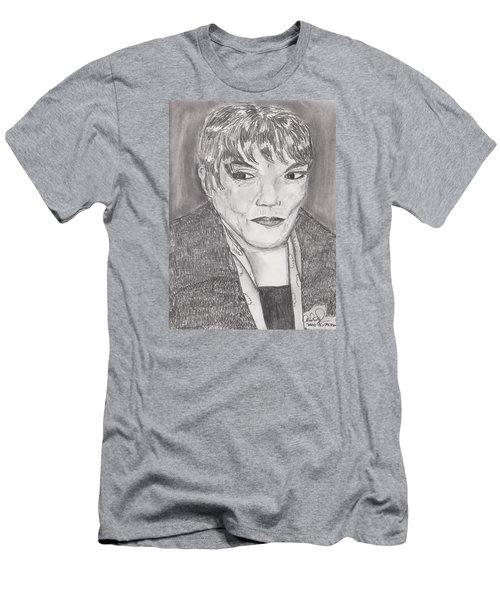 Eartha Kitt Men's T-Shirt (Slim Fit) by David Jackson