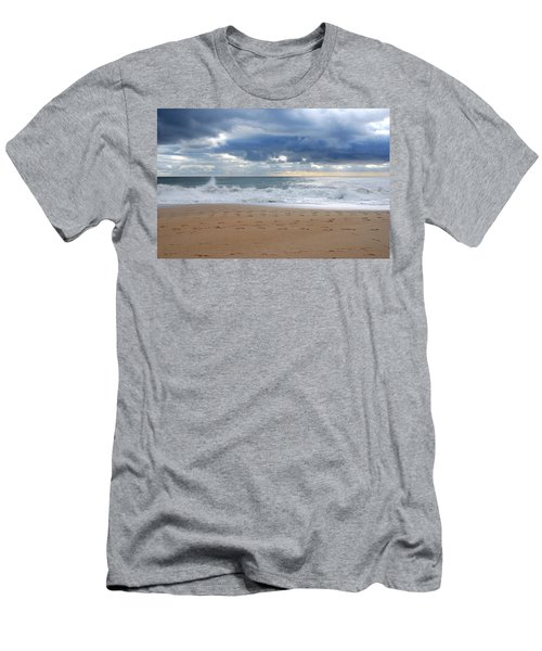 Earth's Layers - Jersey Shore Men's T-Shirt (Athletic Fit)