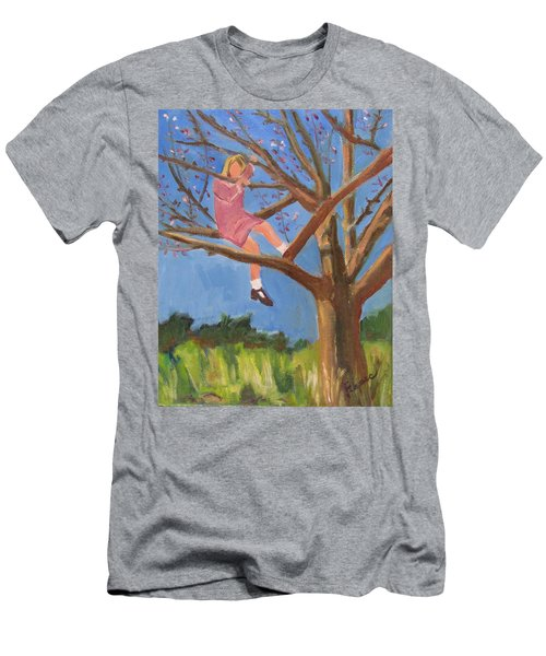 Easter In The Apple Tree Men's T-Shirt (Athletic Fit)