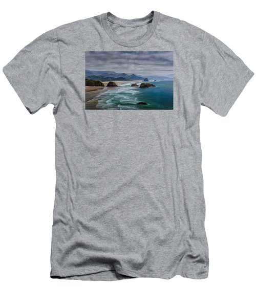 Ecola Viewpoint Men's T-Shirt (Athletic Fit)