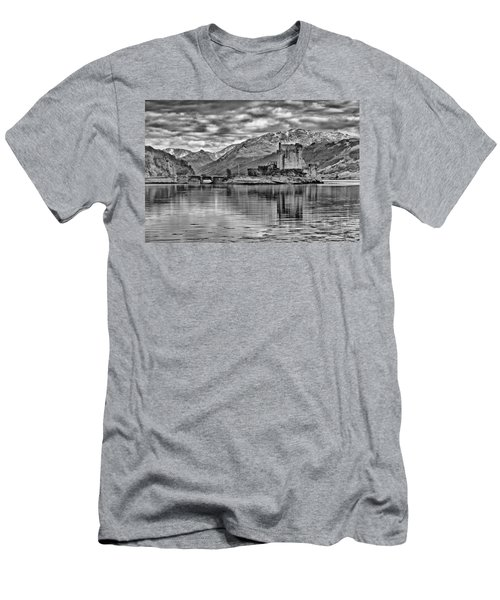 Eilean Donan - A Reflection Without Colour Men's T-Shirt (Athletic Fit)