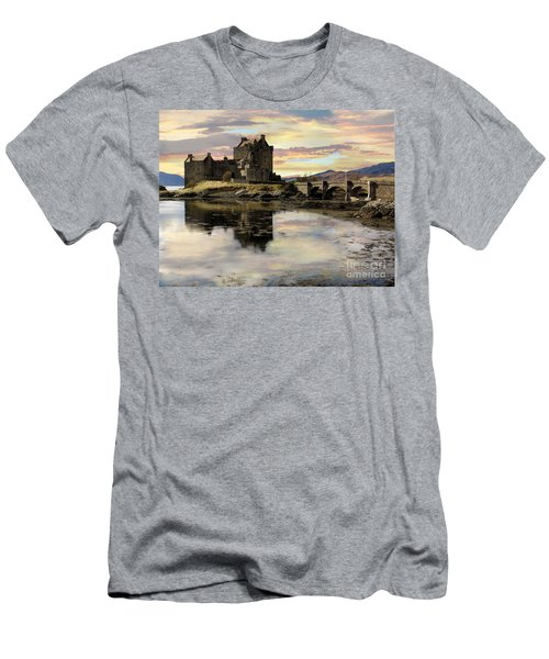 Eilean Donan Castle Scotland Men's T-Shirt (Athletic Fit)