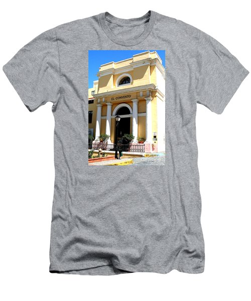 El Convento Hotel Men's T-Shirt (Slim Fit) by The Art of Alice Terrill