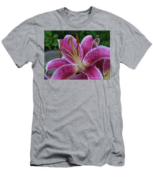 Men's T-Shirt (Slim Fit) featuring the photograph Elegance by Lingfai Leung